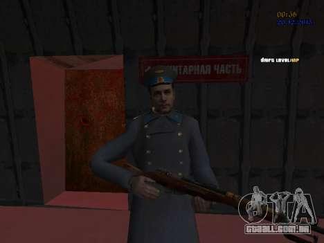Coronel-General da Força Aérea Soviética para GTA San Andreas nono tela