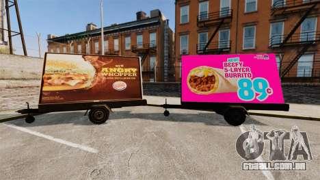 A nova publicidade sobre rodas para GTA 4