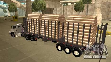 Mrecedes-Benz LS 2638 Canaviero para GTA San Andreas vista interior
