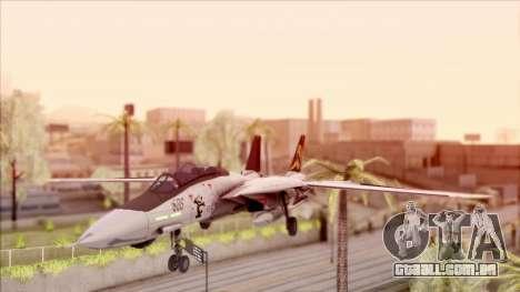 USA Navy Hydra para GTA San Andreas esquerda vista