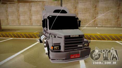 Scania 113H Top Line Neee Edit para GTA San Andreas vista direita