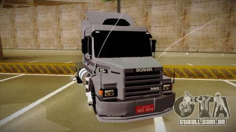Scania 113H Top Line Neee Edit para GTA San Andreas vista direita