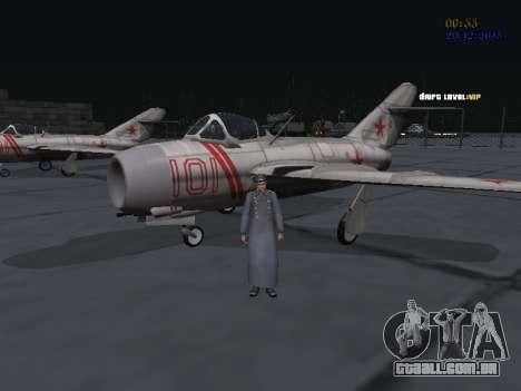 Coronel-General da Força Aérea Soviética para GTA San Andreas sexta tela