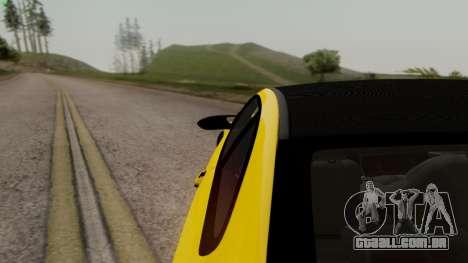BMW M3 E92 Hamann para vista lateral GTA San Andreas