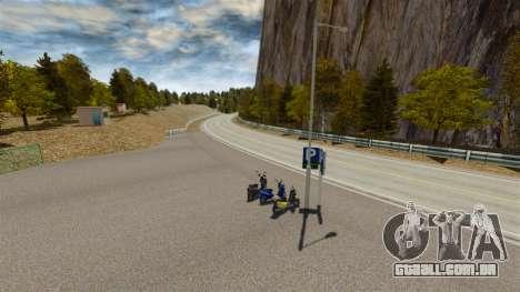 Localização de Okutama FZC para GTA 4 oitavo tela