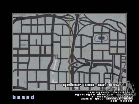 Mapear no estilo de GTA 5 para GTA San Andreas terceira tela