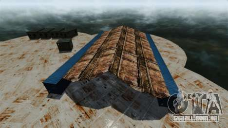 Base naval para GTA 4 quinto tela
