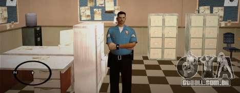 Cadet Of The Police Academy para GTA San Andreas por diante tela