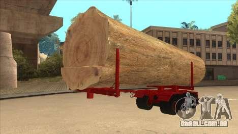 2-nd-madeira transportadora para Hayes H188 para GTA San Andreas vista direita