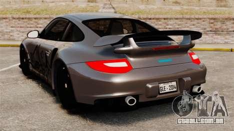 Porsche 911 GT2 RS 2012 Turbo para GTA 4 traseira esquerda vista