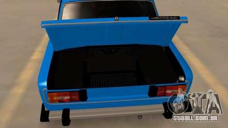 2106 Vaz para vista lateral GTA San Andreas