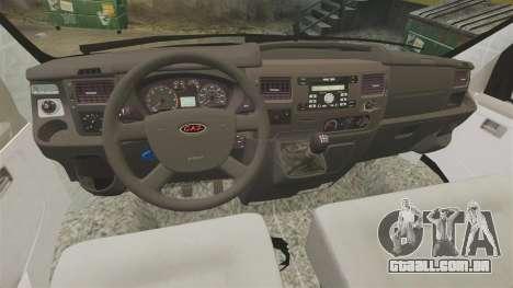 Gaz-2752 Sobol v 1.1 para GTA 4 vista de volta