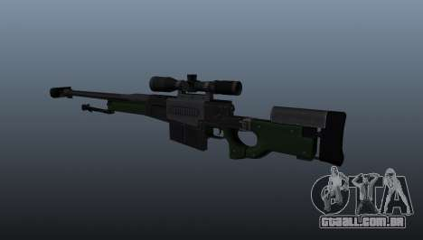 Rifle de sniper AW50F para GTA 4 segundo screenshot