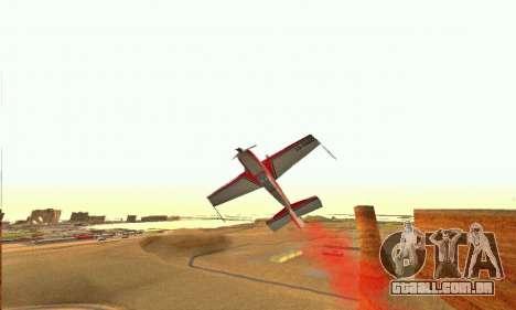 Stunt GTA V para GTA San Andreas vista interior