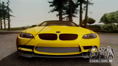 BMW M3 E92 Hamann para GTA San Andreas vista traseira