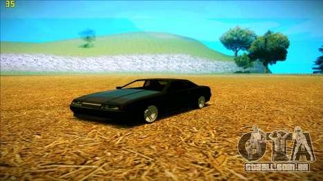 New Elegy para GTA San Andreas esquerda vista