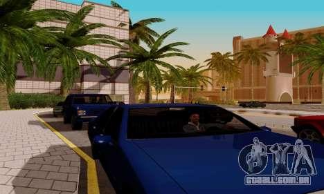 ENBSeries for low PC para GTA San Andreas décimo tela