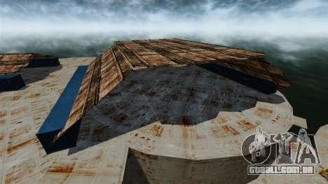 Base naval para GTA 4 por diante tela