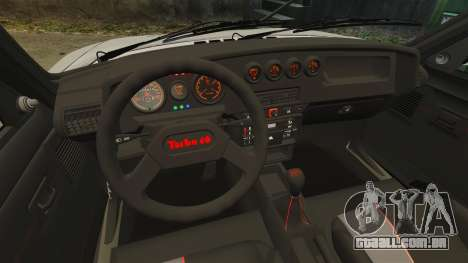 Peugeot 205 Turbo 16 para GTA 4 vista interior