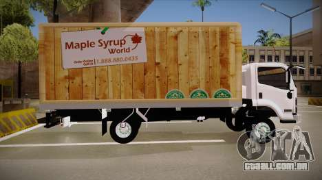 Chevrolet FRR Maple Syrup World para GTA San Andreas esquerda vista