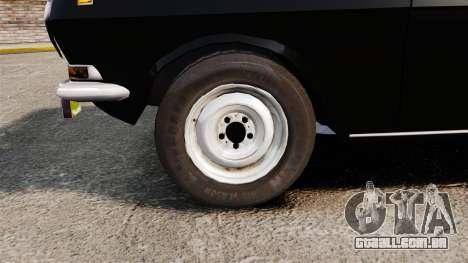 Volga GAZ-2410 v1 para GTA 4 vista de volta