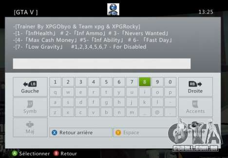GTA 5 Team XPG GTA V Trainer 9 terceiro screenshot