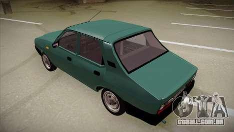 Dacia 1310 Berlina 2001 para GTA San Andreas vista traseira
