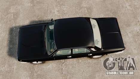 Volga GAZ-2410 v1 para GTA 4 vista direita