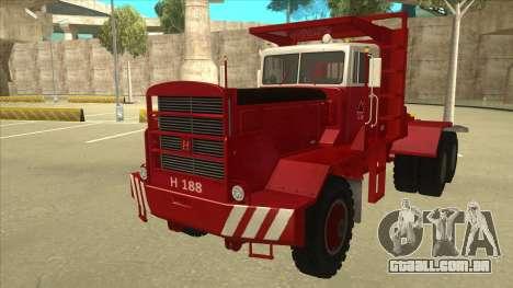 Hayes caminhão H188 para GTA San Andreas