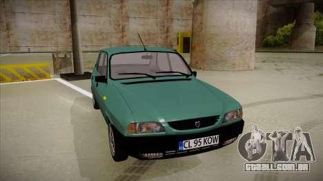 Dacia 1310 Berlina 2001 para GTA San Andreas esquerda vista