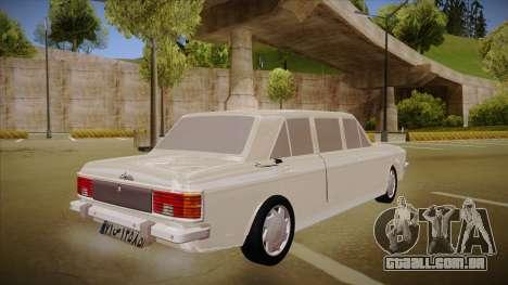 Paykan Limousine para GTA San Andreas vista direita