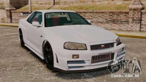 Nissan Skyline R34 GT-R NISMO Z-tune para GTA 4