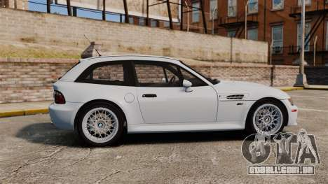 BMW Z3 Coupe 2002 para GTA 4 esquerda vista