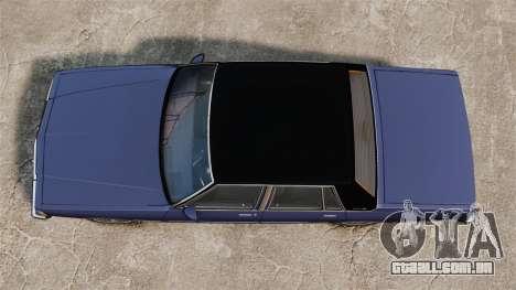 Chevrolet Caprice Brougham 1986 para GTA 4 vista direita