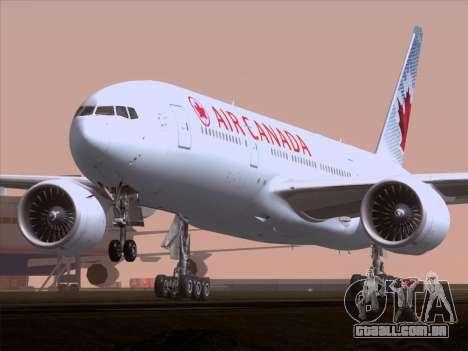 Boeing 777-200ER Air Canada para GTA San Andreas