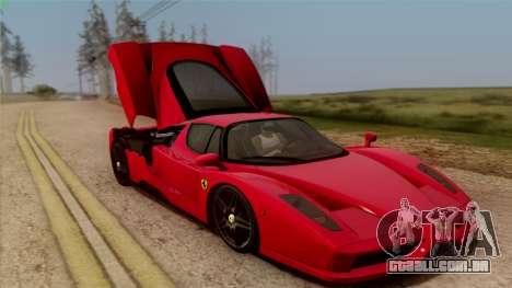 Ferrari Enzo 2002 para GTA San Andreas vista superior