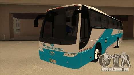 Zaibee Daewoo Express Coach para GTA San Andreas