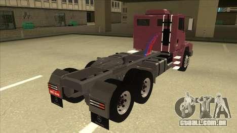 Mrecedes-Benz LS 2638 Canaviero para GTA San Andreas traseira esquerda vista