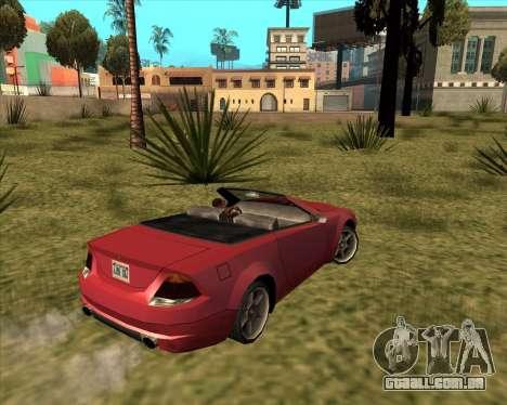 Feltzer benfeitor do GTA 4 para GTA San Andreas esquerda vista