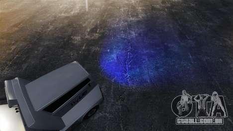 Faróis azuis para GTA 4 terceira tela