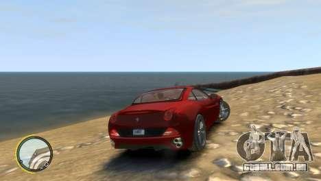 Ferrari California [EPM] para GTA 4 vista direita