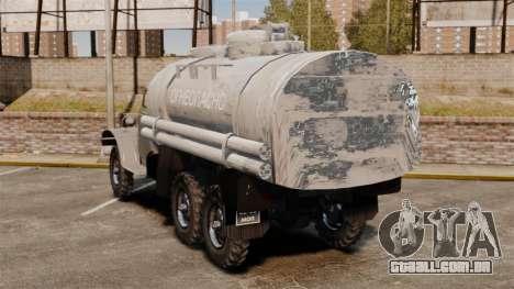 Caminhão ZIL-157 para GTA 4 traseira esquerda vista
