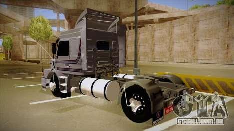 Scania 113H Top Line Neee Edit para GTA San Andreas esquerda vista