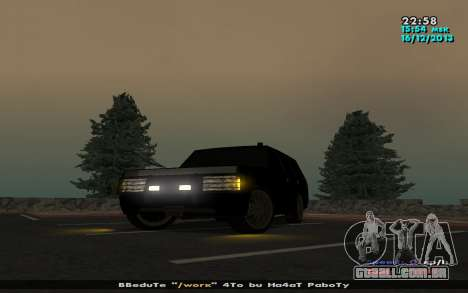 Huntley Mp-Bandit para GTA San Andreas esquerda vista
