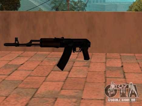 Buttstock AK-74 para GTA San Andreas segunda tela