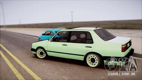 VW Jetta MK2 para GTA San Andreas esquerda vista