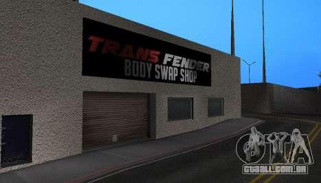 Wang Cars para GTA San Andreas por diante tela