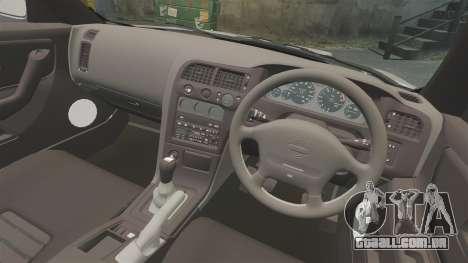 Nissan Skyline R33 NISMO 400R para GTA 4 vista interior