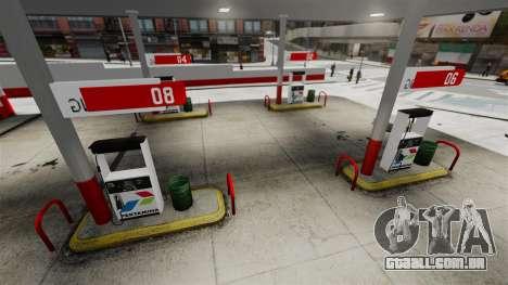 Pertamina posto de gasolina para GTA 4 quinto tela