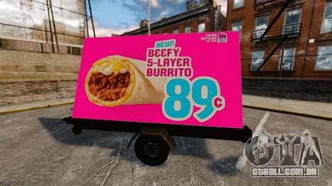 A nova publicidade sobre rodas para GTA 4 terceira tela